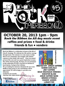 Rock the Ribbon Breast Cancer Fundraiser, Myrtle Beach